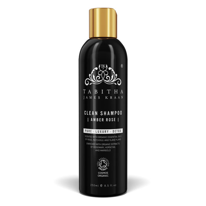 Tabitha James Kraan Clean Shampoo Amber Rose 250ml