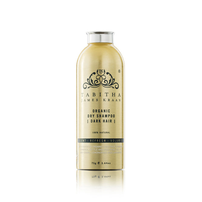 Organic Dry Shampoo Shaker for Dark Hair