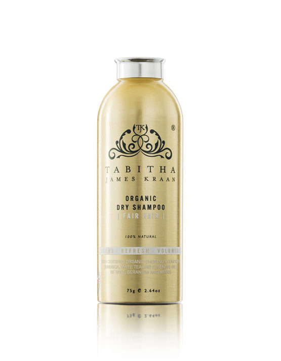 Organic Dry Shampoo for Fair Hair by Tabitha James Kraan