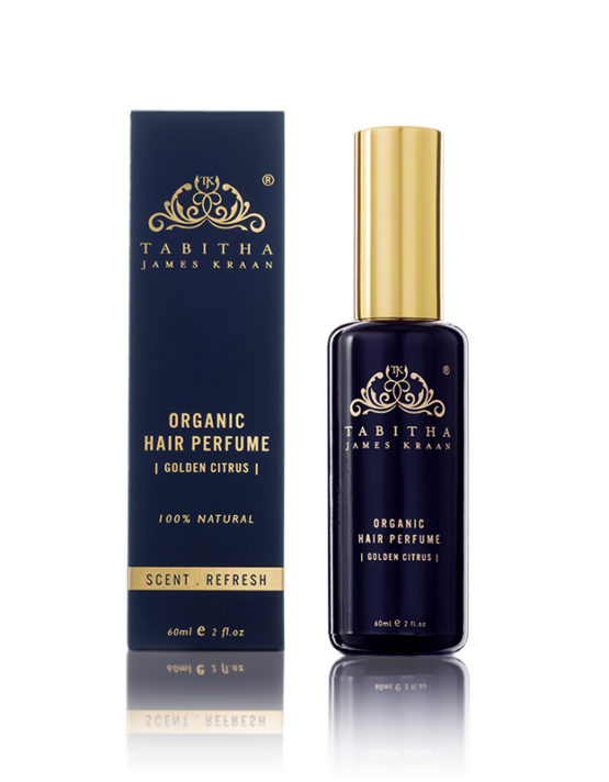 Organic Hair Perfume Golden Citrus