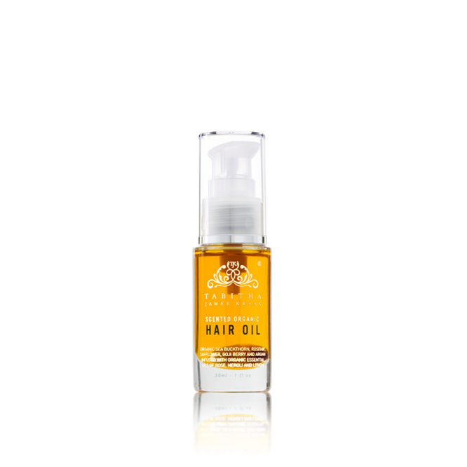 Scented Organic Hair Oil Amber Rose